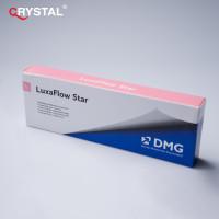 LuxaFlow Star, текучий композитный материал для временных конструкций,DMG