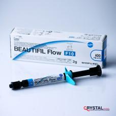 Beautifil Flow  F10 – высокотекучий реставрационный материал на основе Geomer. Shofu