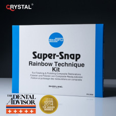 Super Snap Set Rainbow – полировочные диски для полировки готовой реставрации. Shofu