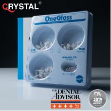 One Gloss Set – набор одноэтапных полировочных силиконовых  насадок. Shofu