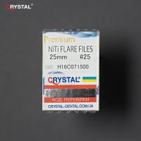 Flare files NiTi  №15-40 (25mm, 6 шт) Mani