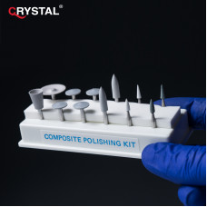 Composite Polishing Kit CA набор для отделки и полировки всех типов композитов. Shofu