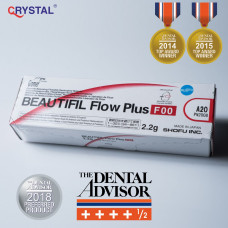 Beautifil Flow Plus F00 –инъецируемый пакуемый материал на основе гиомера. Shofu