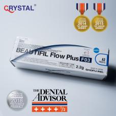 Beautifil Flow Plus F03 – инъецируемый реставрационный материал на основе гиомера. Shofu