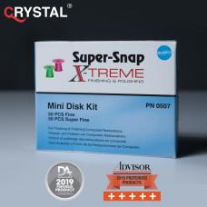 Super-Snap X-Treme Mini Disk – полировочные диски для полировки готовой реставрации. Shofu
