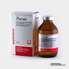 Parcan, 3% раствор гипохлорида натрия для промывания каналов. Septodont